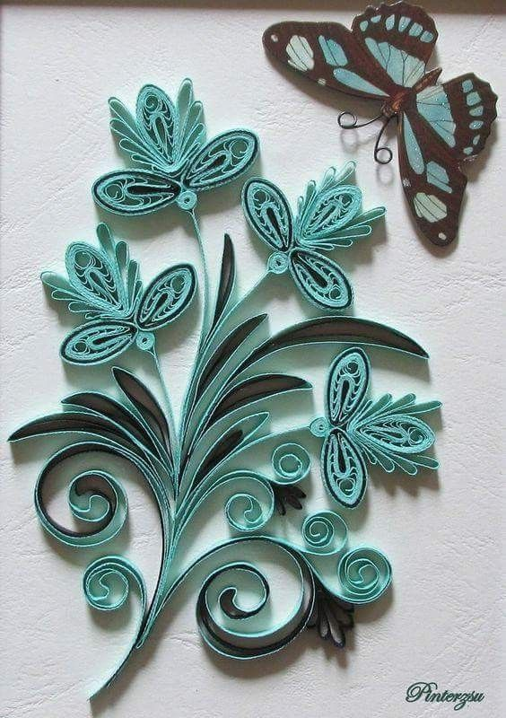 Pin By Malami On Quilling Paper Quilling Patterns Paper Quilling Cards Paper Quilling Flowers