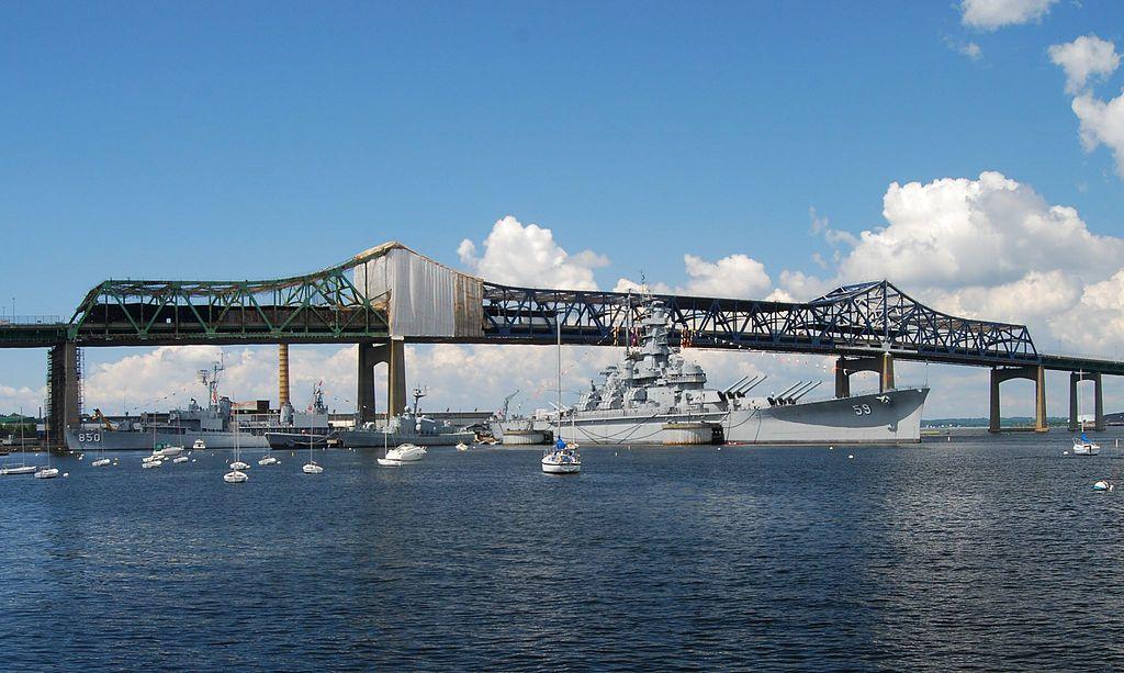 Braga bridge paint job charles m braga jr memorial