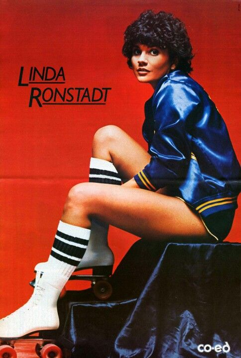 LINDA ROLLER GIRL - I used to have this poster. Wonder what one would cost today?