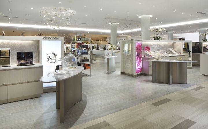 Saks Fifth Avenue Flagship Store By Cbx Houston Texas Retail Design Blog