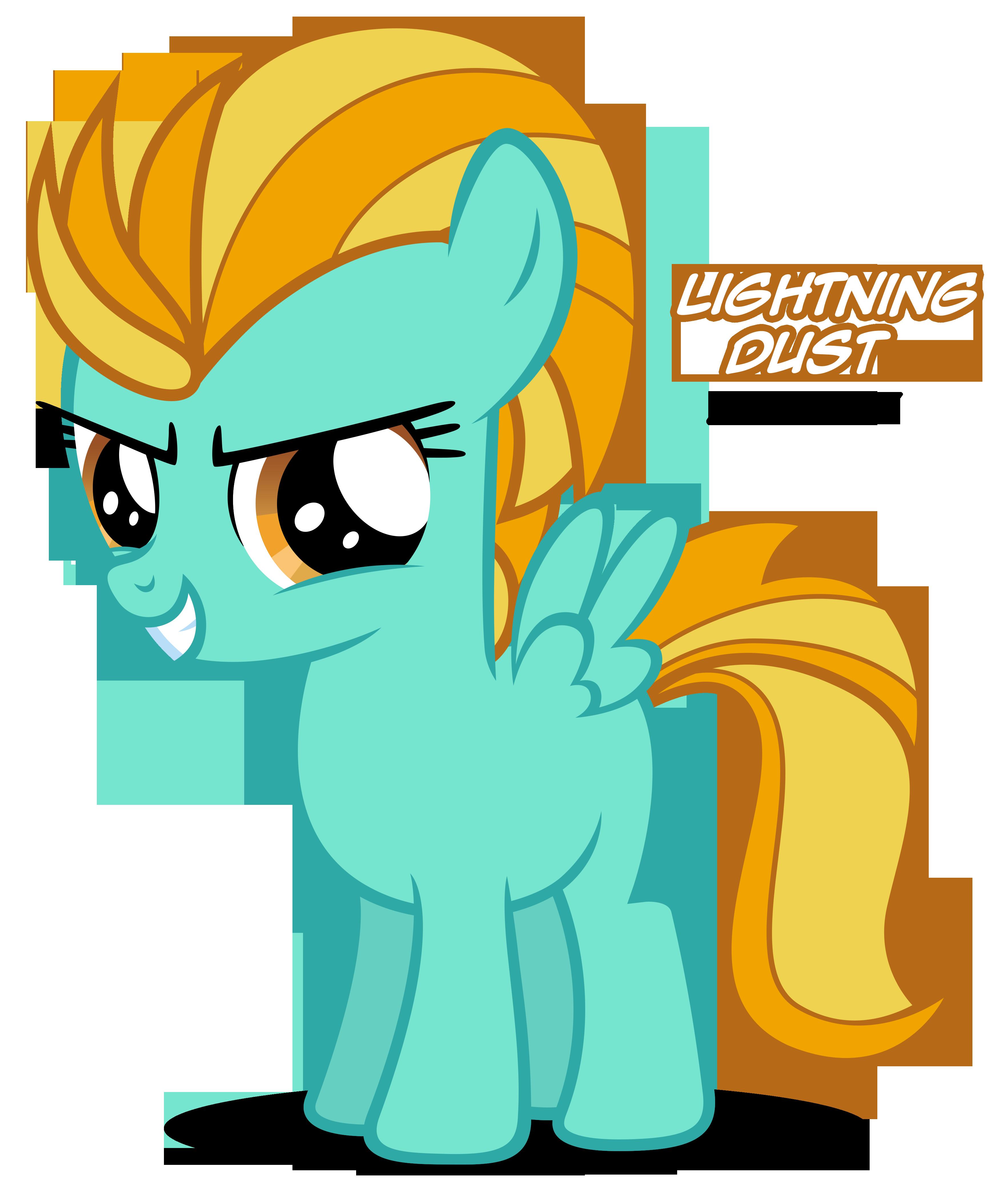 Výsledek obrázku pro mlp lightning dust