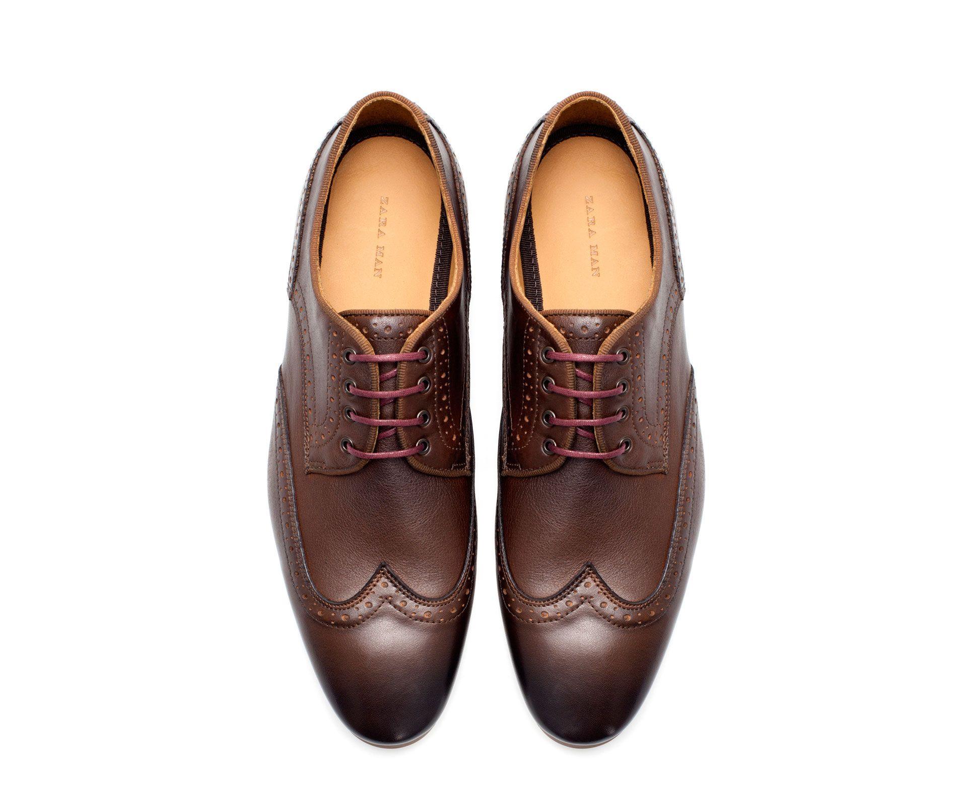URBAN BLUCHER - Shoes - Man | ZARA Mexico