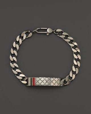 9a529ba4f GUCCI Men's Bracelet with Diamantissima Motif. #gucci #motif | Gucci ...