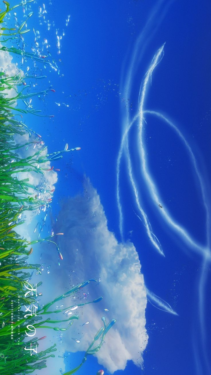 Pin by klengleng on 新海誠 | Anime scenery wallpaper, Anime background, Anime scenery