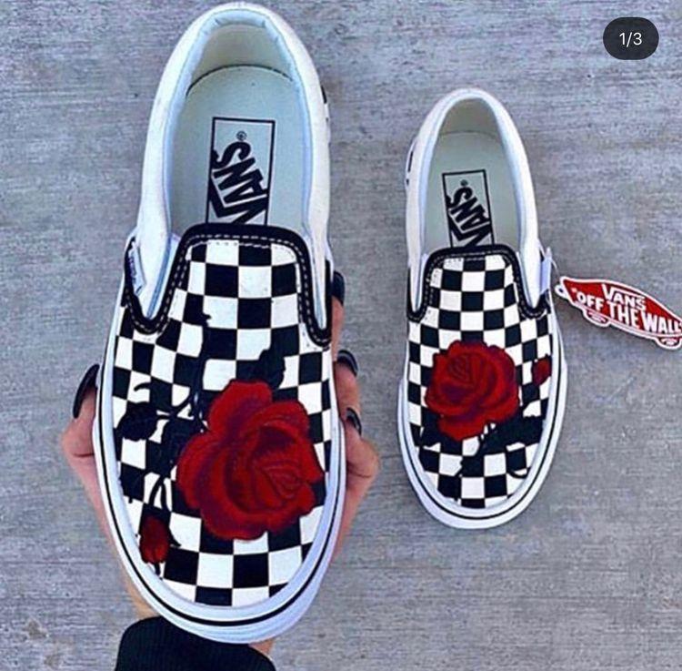 FOLLOW @swaybreezy FOR MORE ❤️   Custom vans shoes, Vans