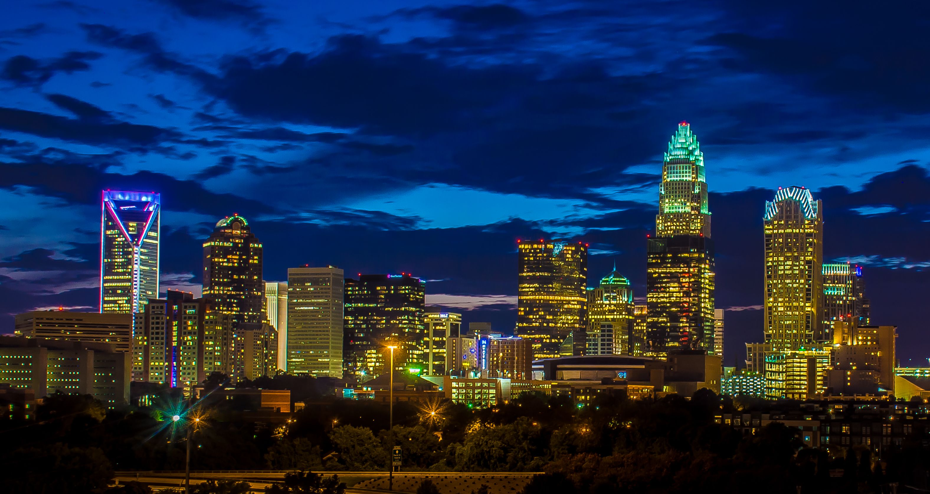Image result for charlotte skyline