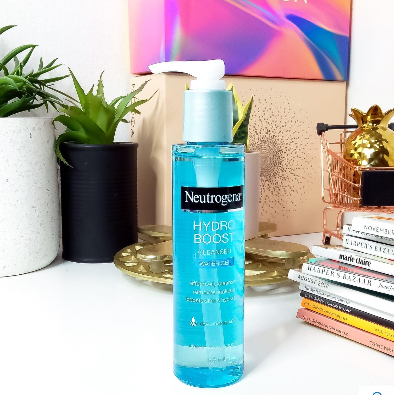 Neutrogena Hydro Boost water gel cleanser Neutrogena
