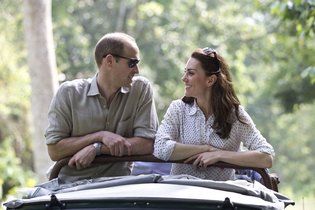 Kate Middleton and Prince William Candid Tour Pictures 2016 | POPSUGAR Celebrity
