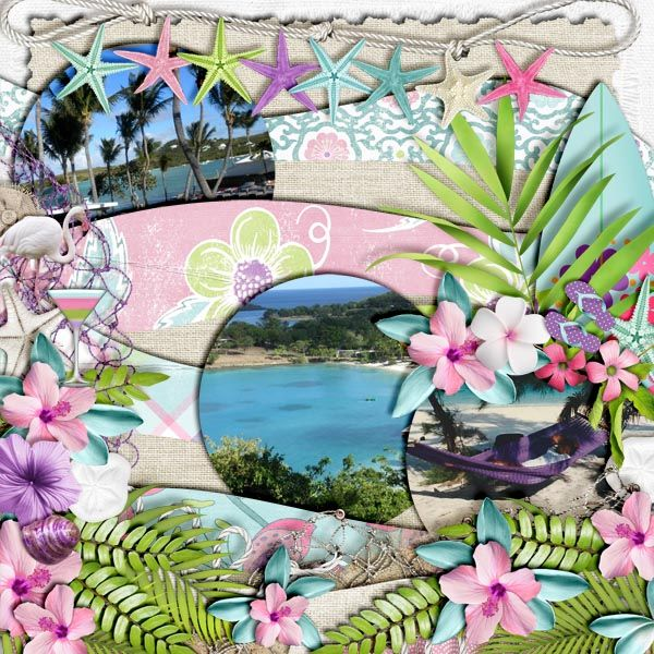The Digichick :: Collections :: Surf Chic: Collection by LDrag Designs