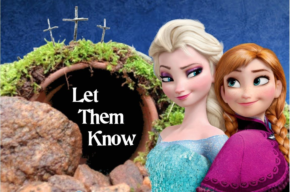 Let Them Know FROZEN parody | Easter songs for kids ...