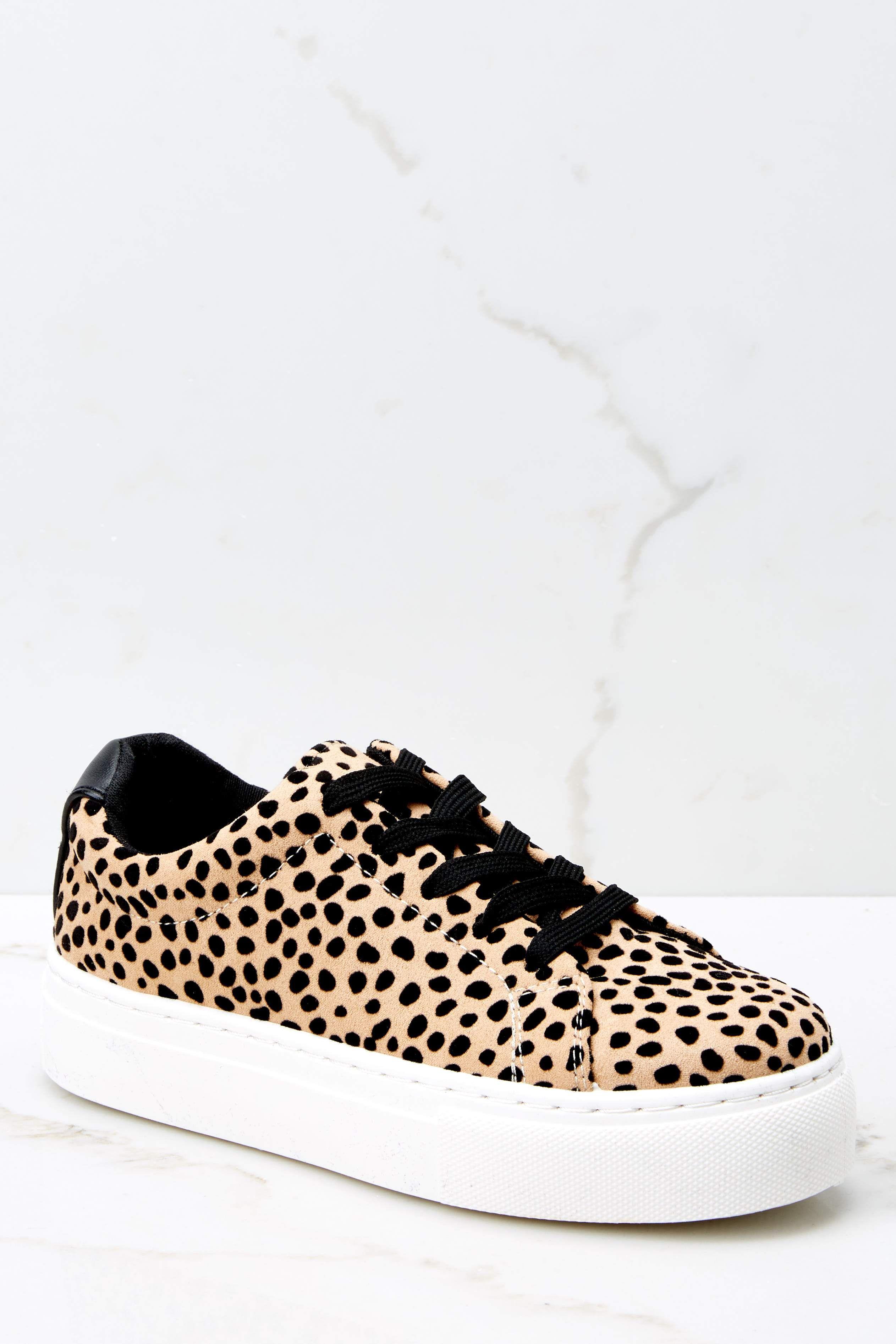 Lead Runner Cheetah Print Sneakers