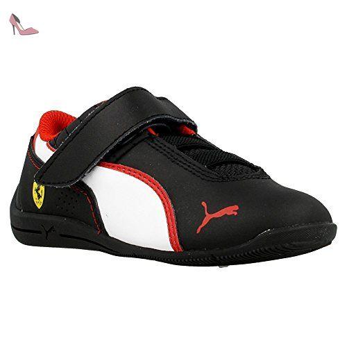 chaussure puma rouge et noir