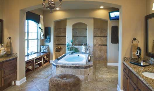 Toll brothers vinton luxurious master bath dream house for Model bathrooms photos