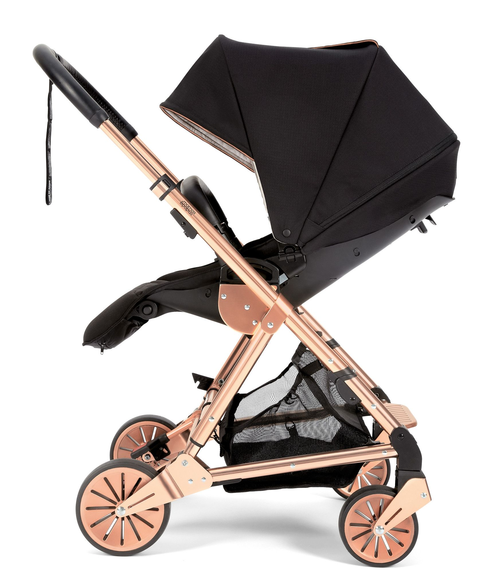 Mamas & Papas Urbo2 Stroller Black Rose Gold Limited Edition