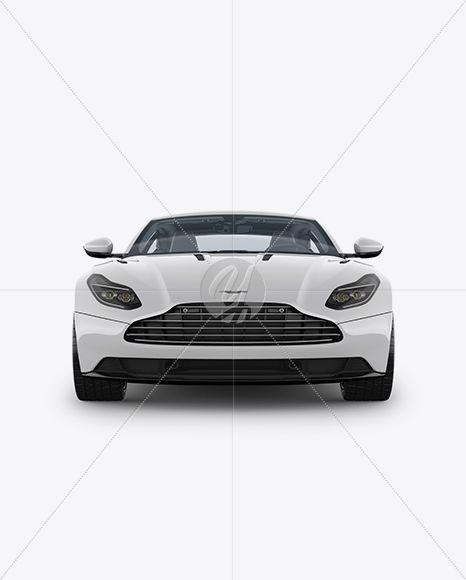 Aston Martin DB11 Mockup - Front View