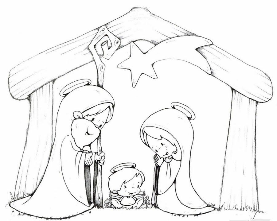 4575 best XA colorier images on Pinterest Coloring books, Coloring - new christmas coloring pages for preschoolers printable