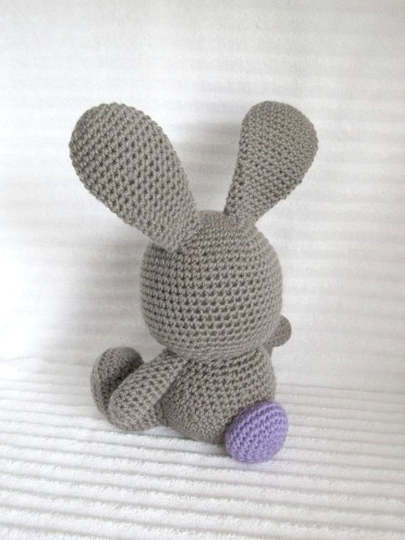 Crochet Bunny, Bunny Stuffed Animal, Crochet Stuffed Animal, Bunny Plush, Nursery Decor, Stuffed Bun #bunnyplush