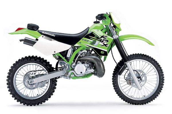 This Looks Like My Bike But Cleaner And Shinier Kawasaki Dirt Bikes Cool Dirt Bikes Enduro Motorcycle