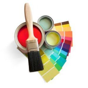 Paint House house painting brushes and paint cans we listen to our customers
