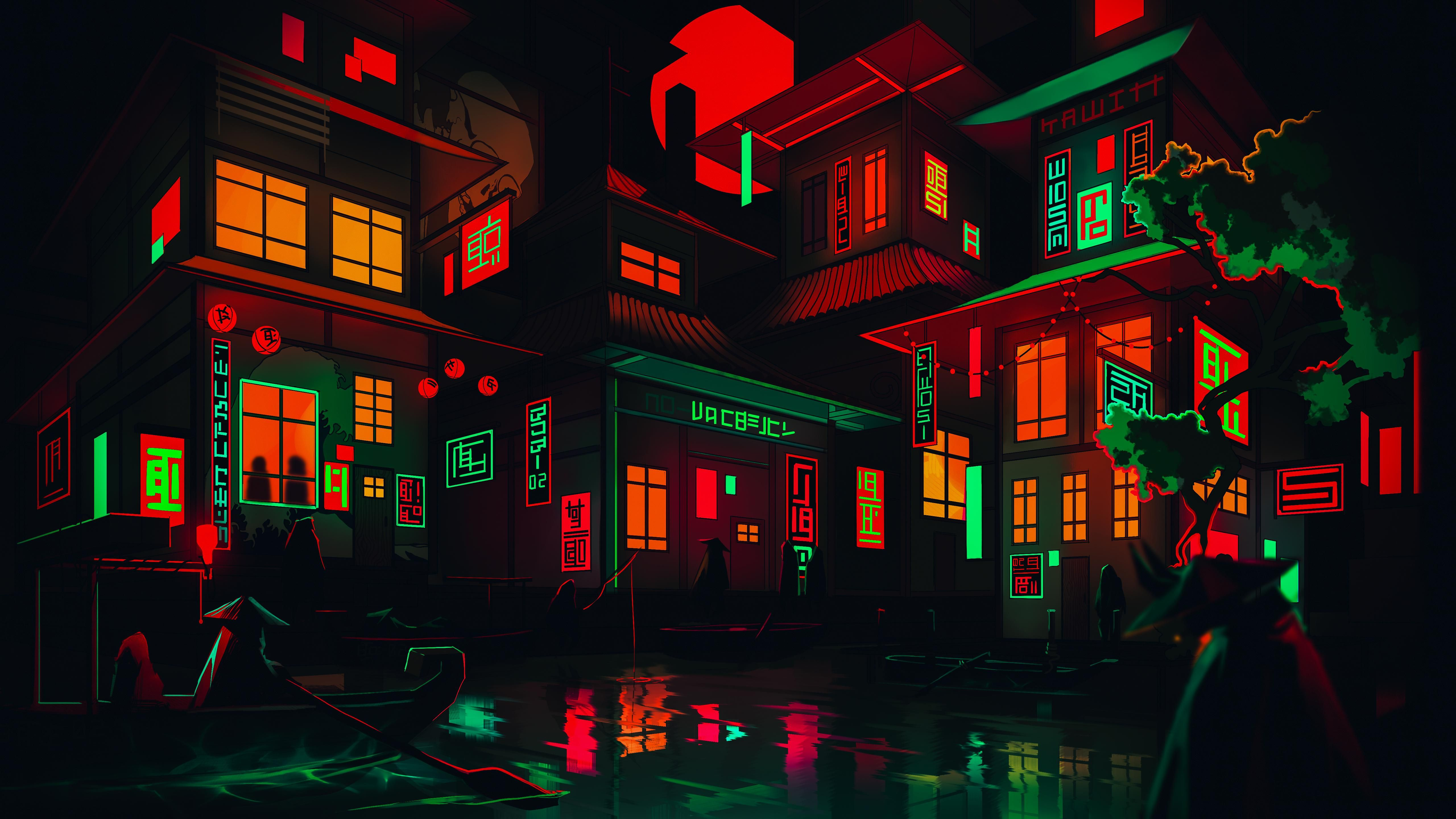 Cool Neon Backgrounds For Computer