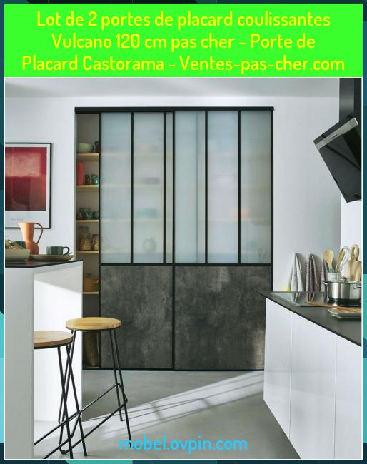 Lot De 2 Portes De Placard Coulissantes Vulcano 120 Cm Pas Cher Porte De Placard Castorama Ventes Pas Cher Com In 2020 With Images Room Divider Home Decor Decor
