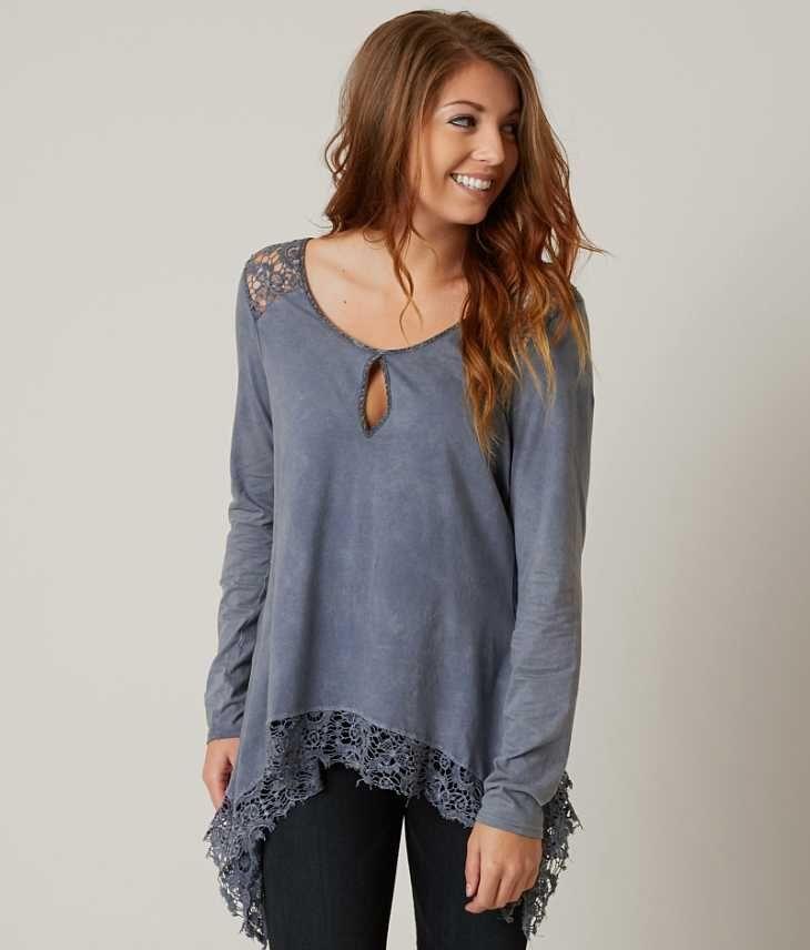 Gimmicks Crochet Top - Women's Shirts/Blouses in Flinstone | Buckle