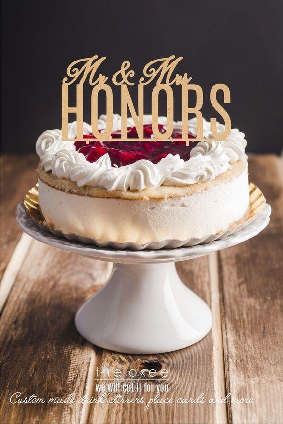 Custom cake topper by Oxee, wooden cake topper, handmade wood cake topper, birthday cake, wedding ca