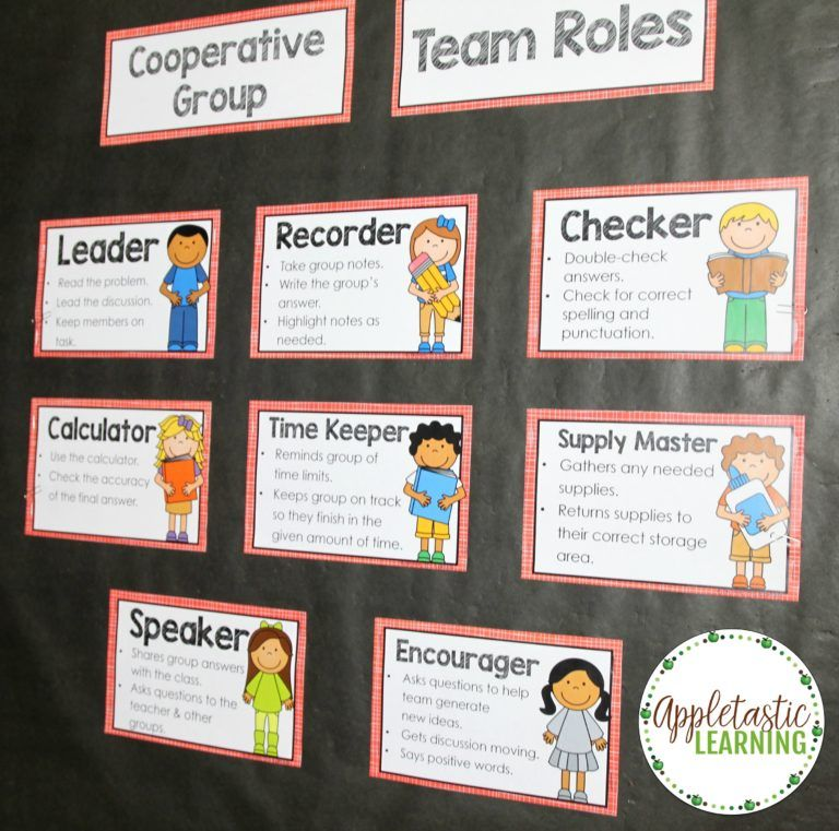 Collaborative Structures In The Classroom : Cooperative learning strategies group roles