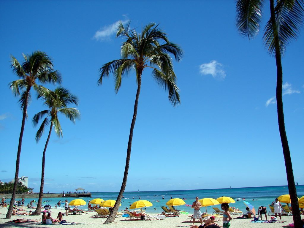 Oahu beach chair rental hawaii beach time - Find Out Waikiki Oahu Hawaii Beach Wallpaper On Http Hdpicorner Com