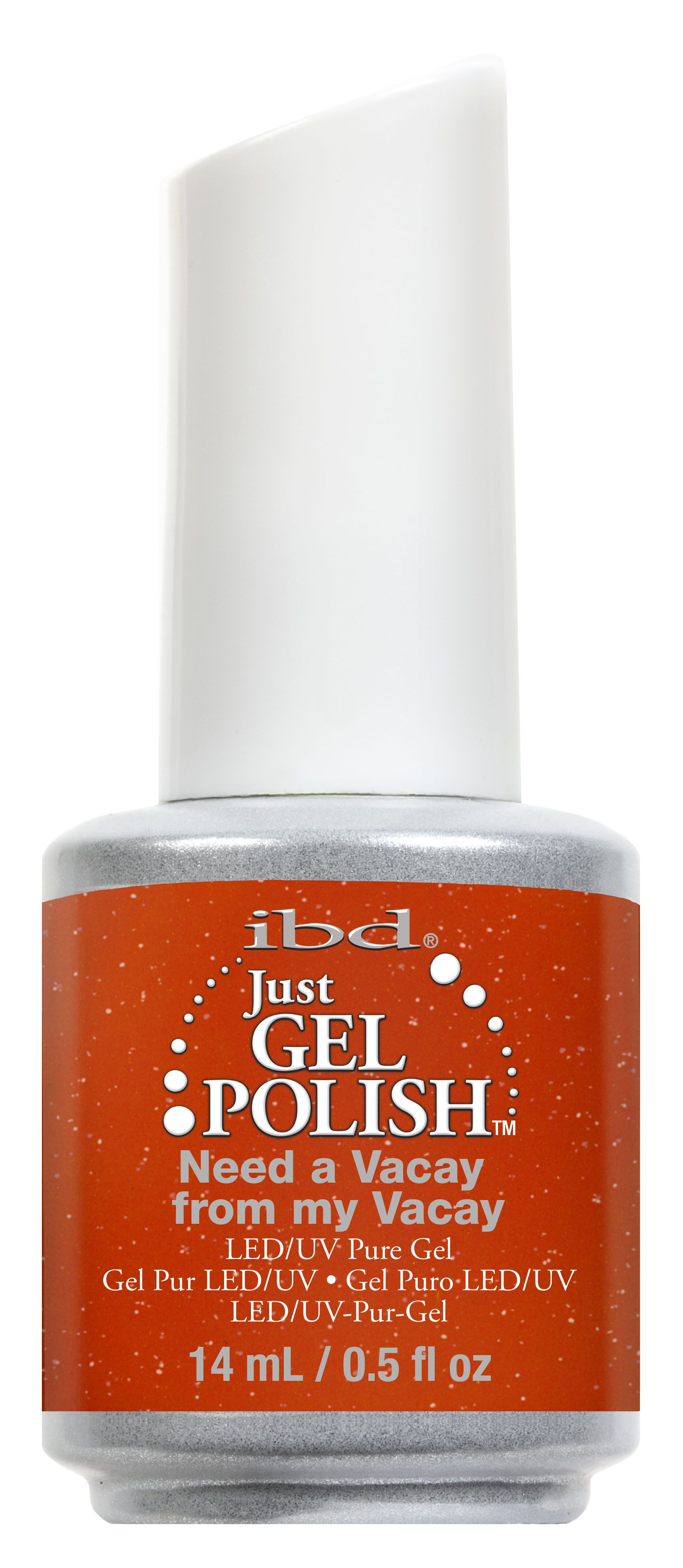 ibd® Island of Eden 'Need a Vacay From My Vacay' -  Vibrant orange-red crème