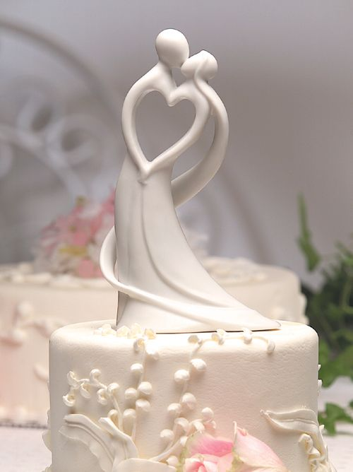 Heart Wedding Cake Ideas