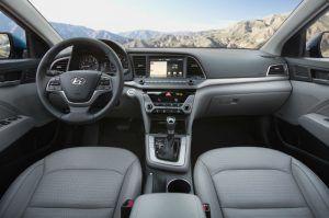2017 Hyundai Elantra Limited Interior Elantra Hyundai Elantra Hyundai