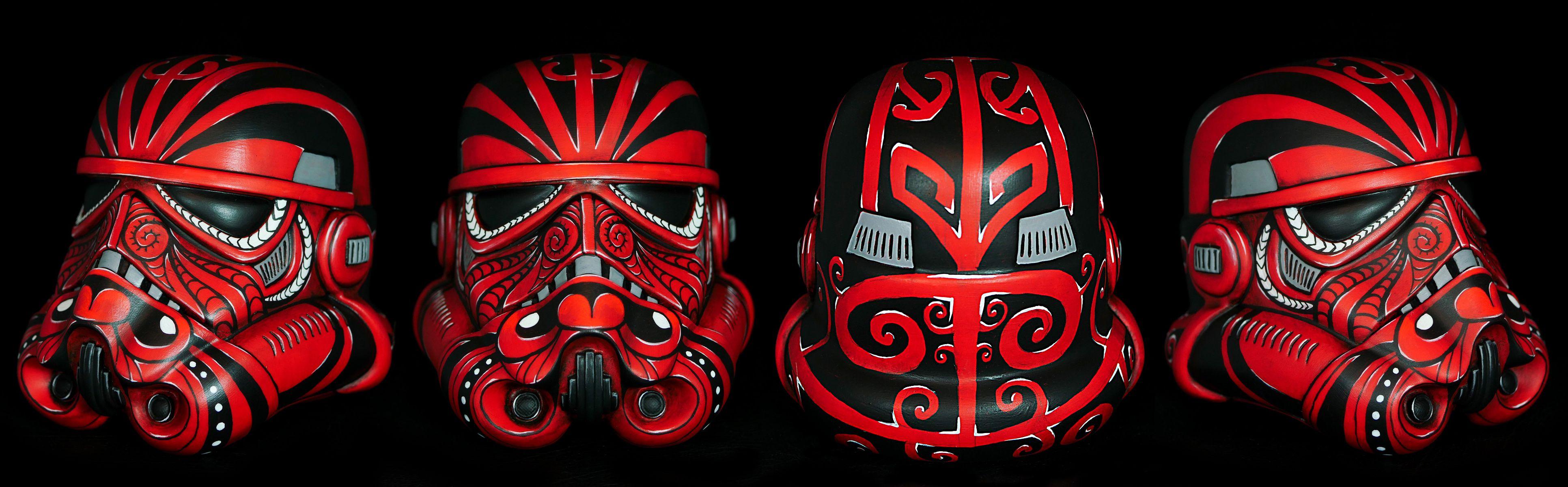 Mokotrooper custom vinyl stormtrooper helmet - Star Wars Maori New Zealand & Mokotrooper custom vinyl stormtrooper helmet - Star Wars Maori New ...