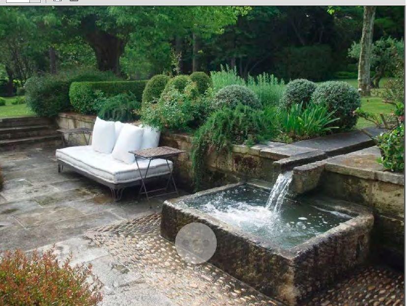 Aprovechar un desnivel para hacer una fuente ideas para for Diseno de fuente de jardin al aire libre