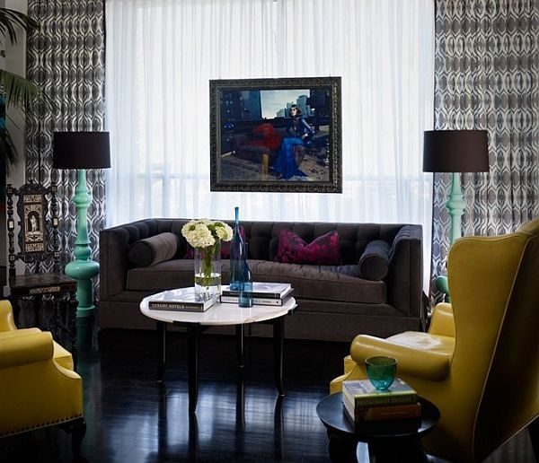 Decorating arund dark floors home sweet home dark wood - Living room with dark wood floors ...