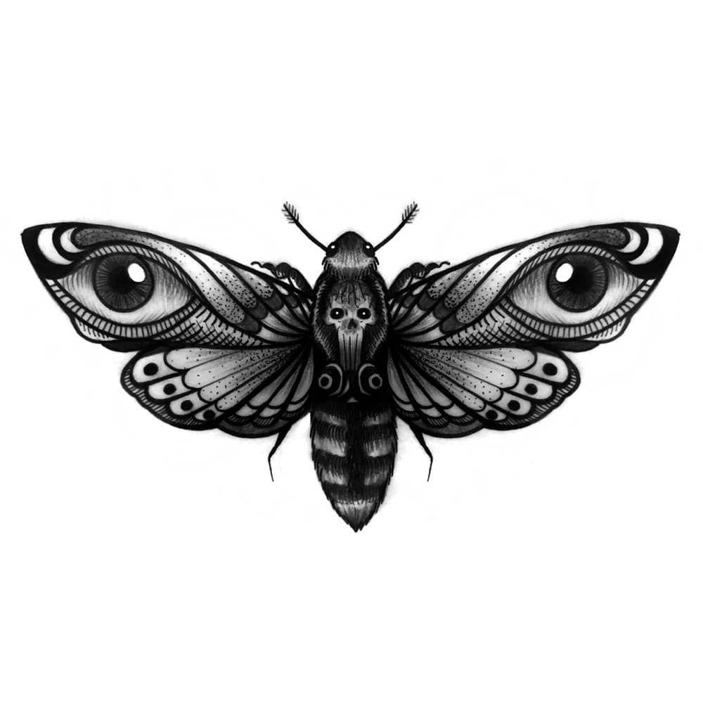 vdltattoo Igor van der Laan Tattoo ※ Mariposa do