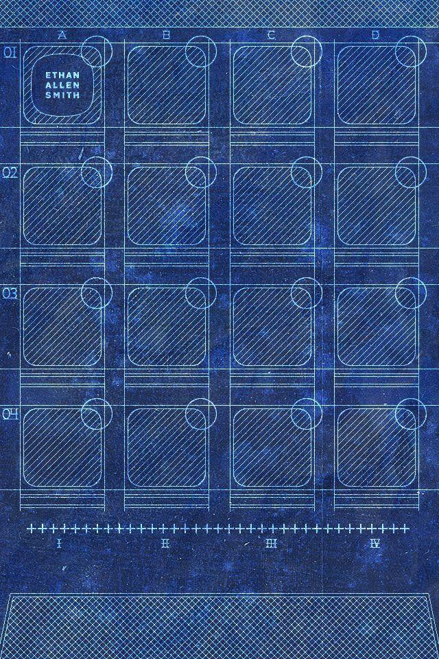 Blueprint Wallpaper, Walpaper iphone and Ipod wallpaper - new blueprint software ios