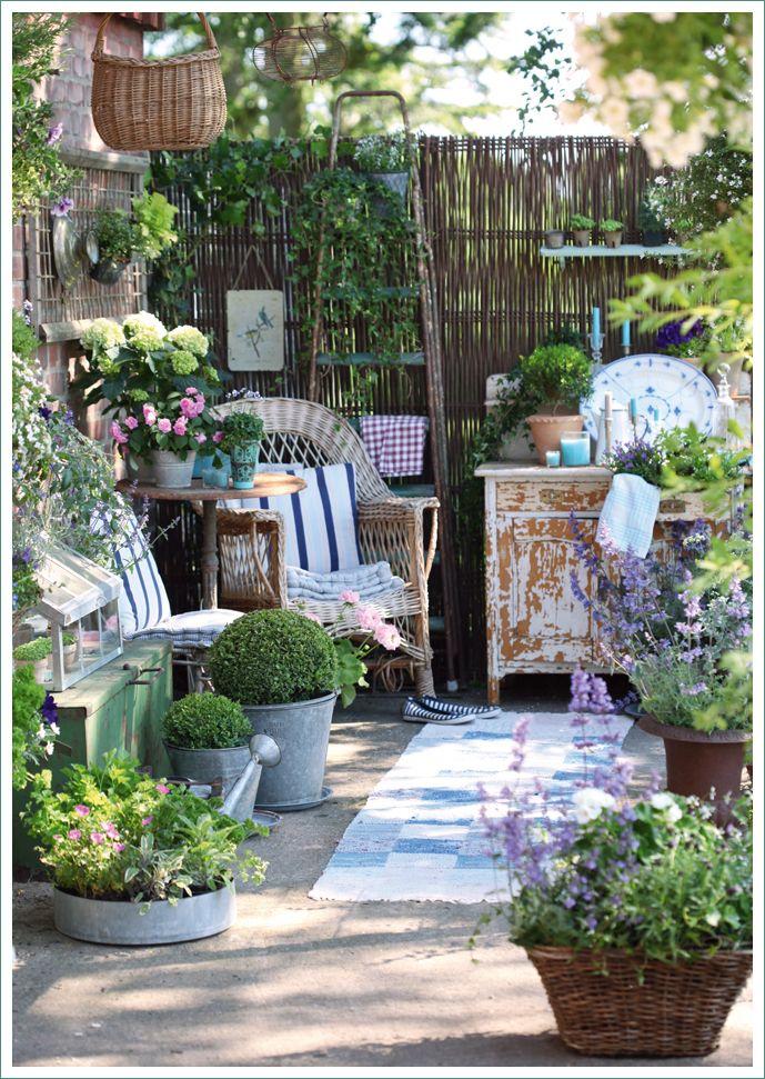 Sognare Un Giardino Garden Cottage Arredamento Giardino Piccolo