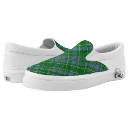 Tartan Taylor Slip-ons - diy cyo customize create your own personalize