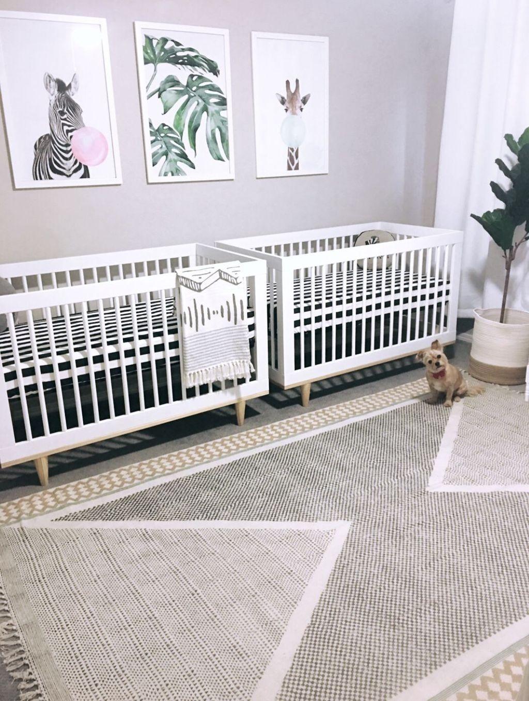 unique nursery room ideas for baby twins12   Chambres pour bébés ...