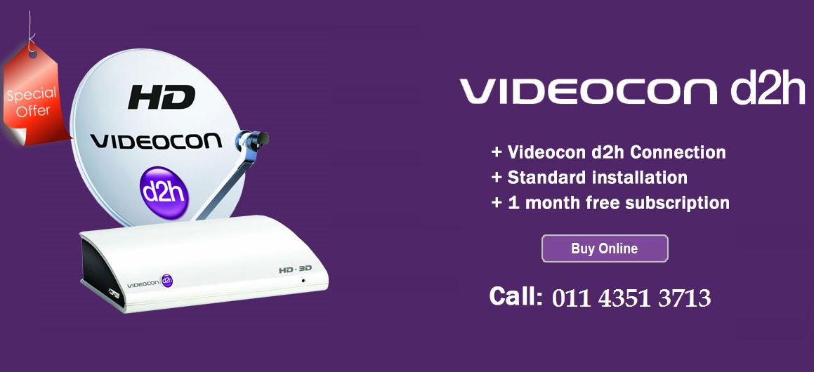 Videocon D2h HD Box Special offer Call on my website www mydthshop