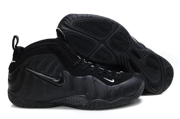 All Black Air Foamposite Pro