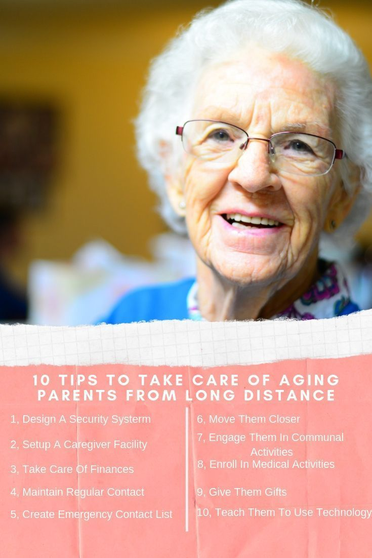 How To Help Elderly Parents From A Distance? [10 Really