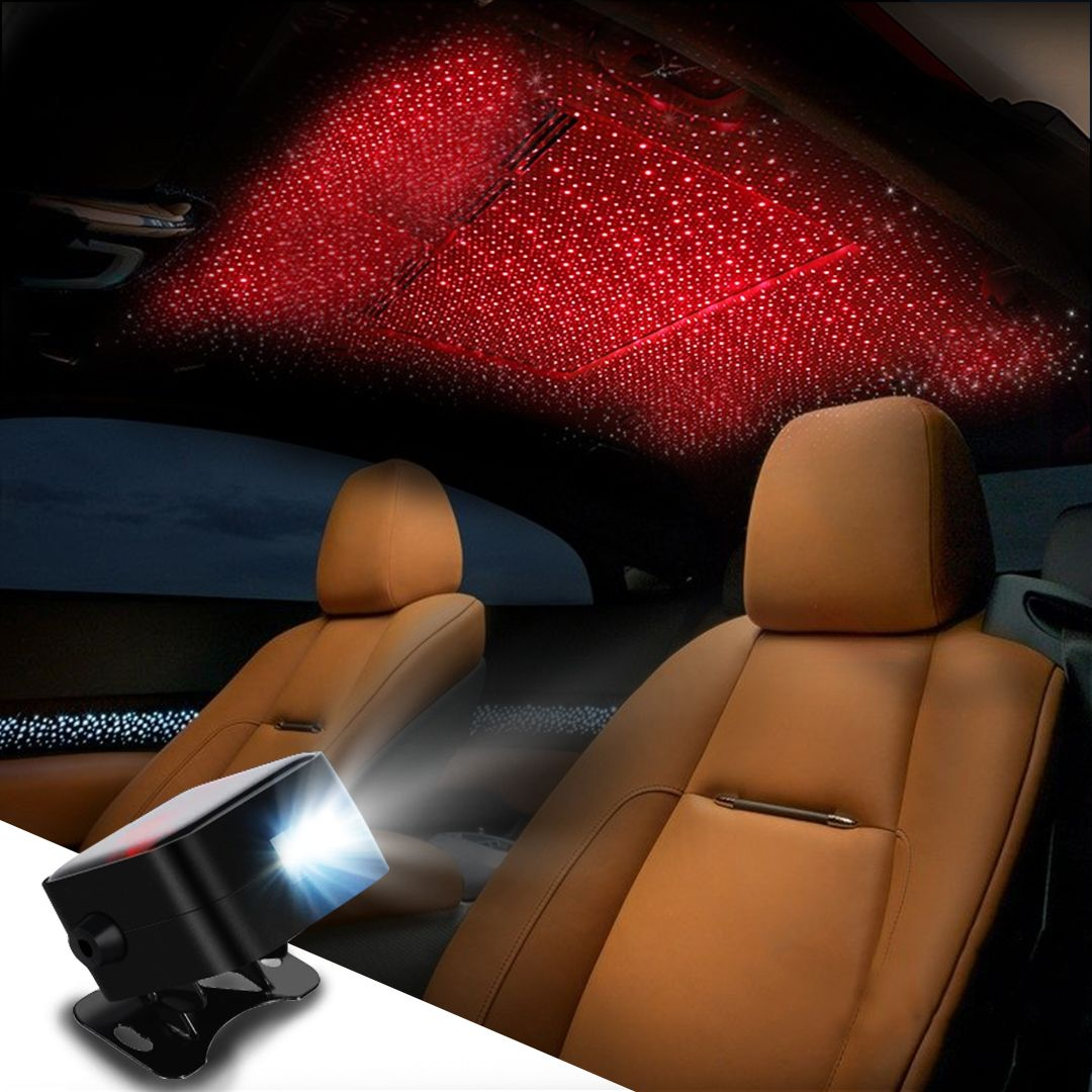 Remote Control Car Interior Ambient Star Light Single