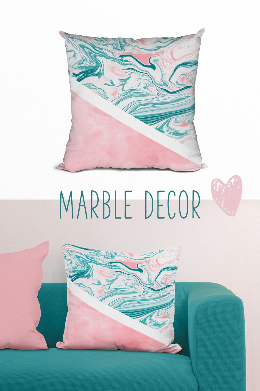 Marble cushion gift for her marble home decor throw pillow cover