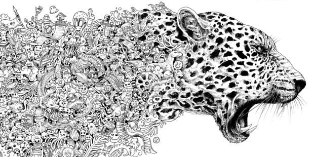 cheetah introduction page by helmie faessen animals in detail color book cheetah pinterest cheetahs colour book and adult coloring