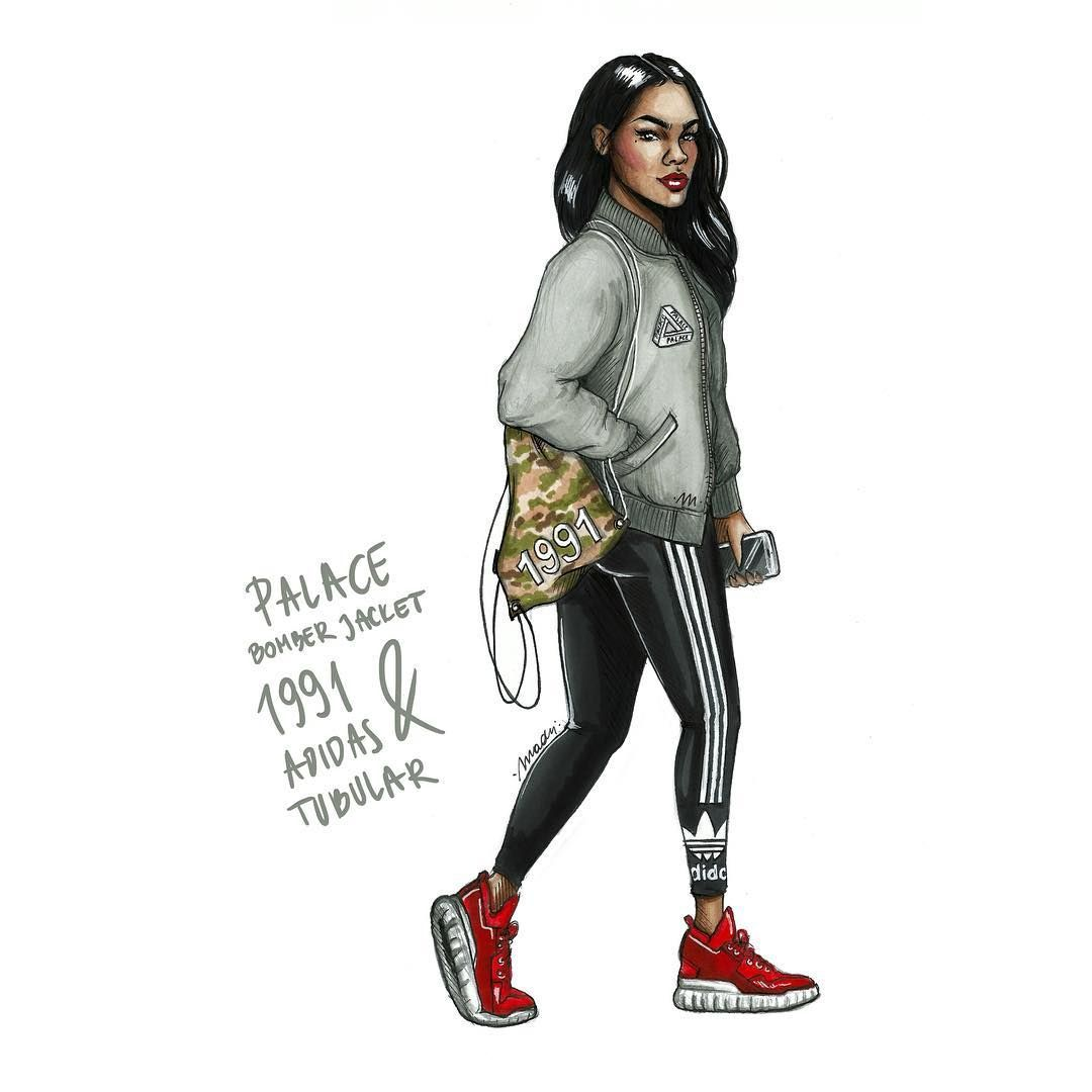 Natalia Madej Illustrations Gmail Com Nataliaaamadej Nofreeart Black Girl Art Black Art Pictures Fashion Sketches [ 1080 x 1080 Pixel ]