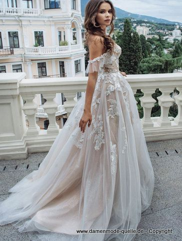 Photo of – Dresses 2020 | Shoulder-free princess dress 2020 for the stand-up in white …
