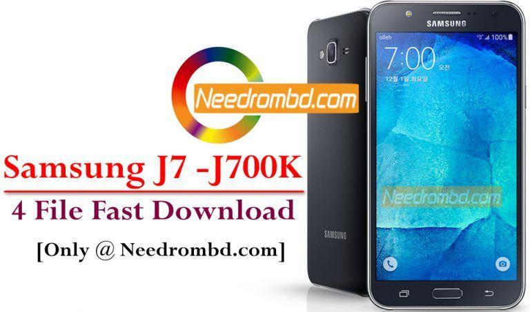 Samsung J7 [SM-J700K] 4 File Repair Firmware | Smartphone
