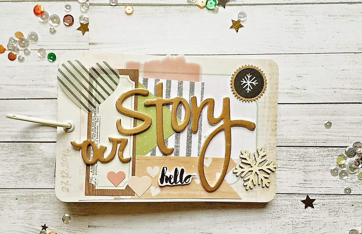 How to make scrapbook video - Hello Today I M With Mini Album Made For Artworkshop Pl Using Pl Cards As A Base I Also Prepared A Video Tutorial How To Make Such Album Scrapbooking